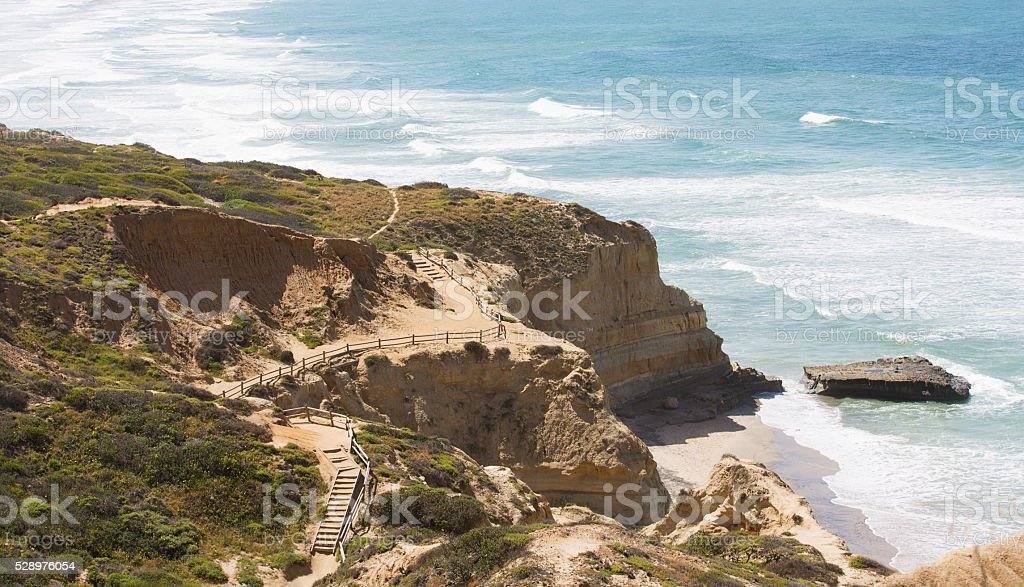 southern california coastline stock photo