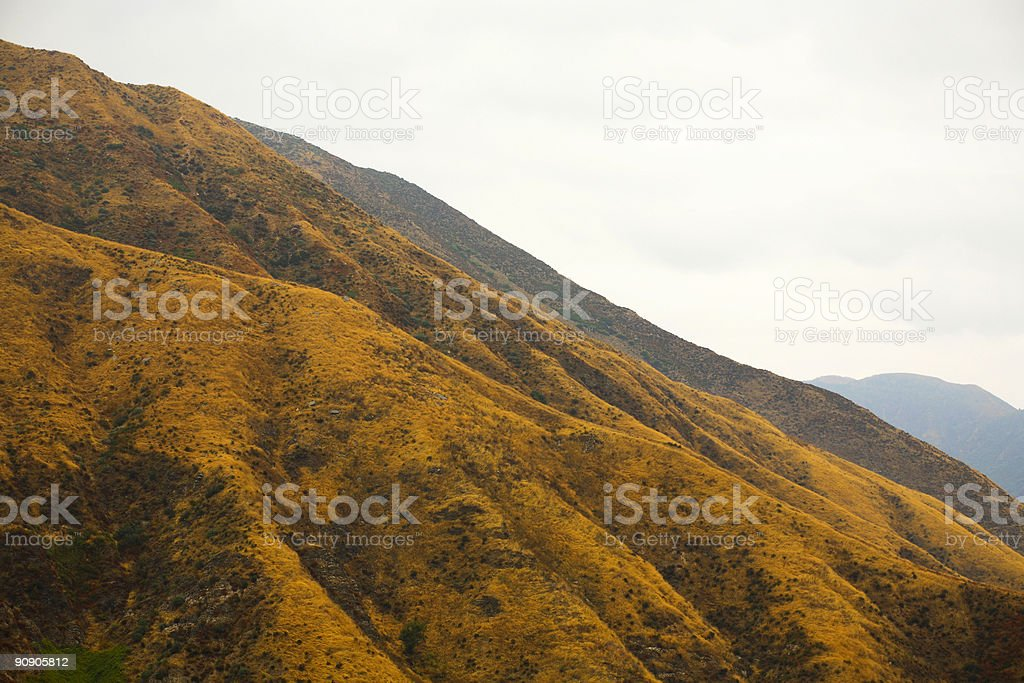 southern california mountain scene royalty-free stock photo