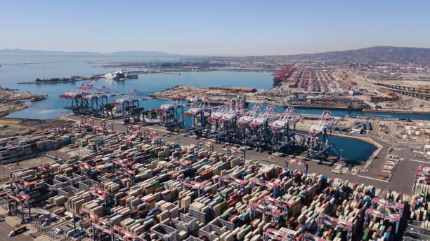 södra kaliforniska portar - hamn bildbanksfoton och bilder