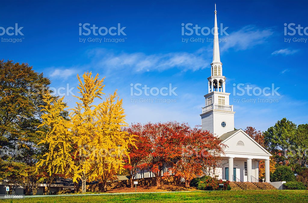 Southern Church stock photo