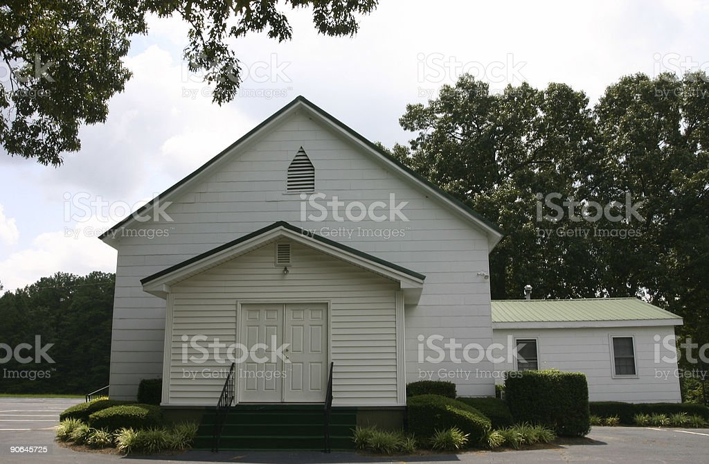 Southern Church royalty-free stock photo
