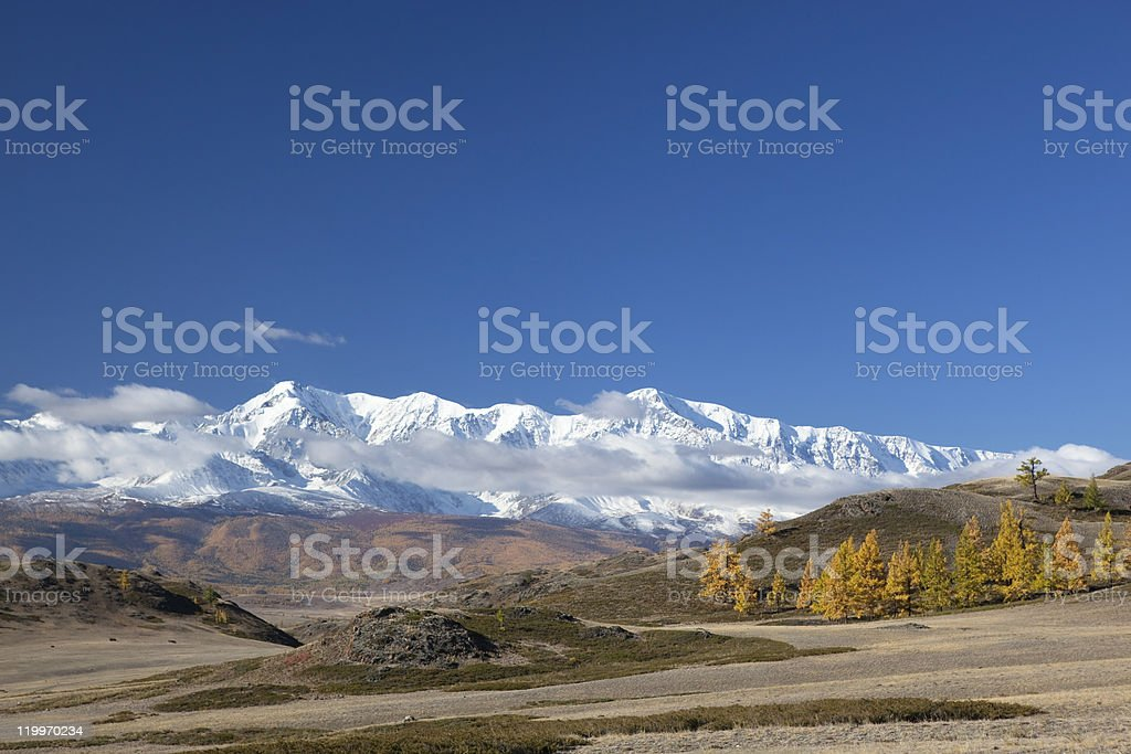 Southern Chuyski ridge stock photo