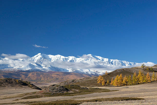 southern chuyski ridge - półpustynny zdjęcia i obrazy z banku zdjęć