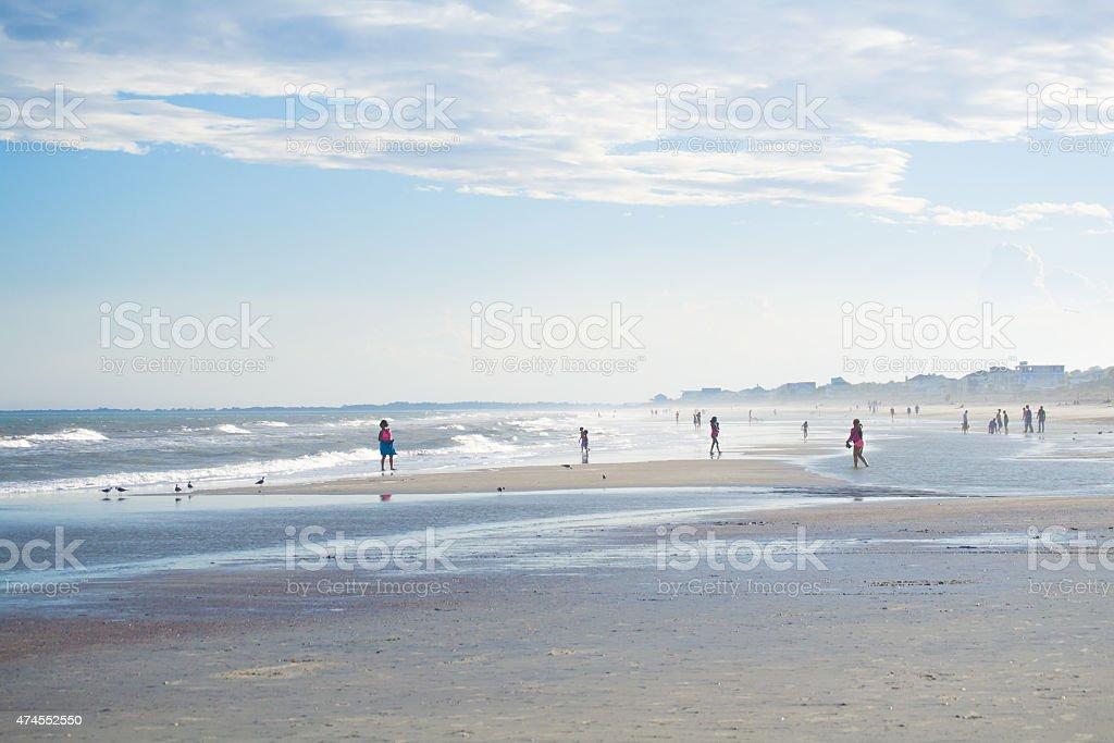Southern Coastline stock photo