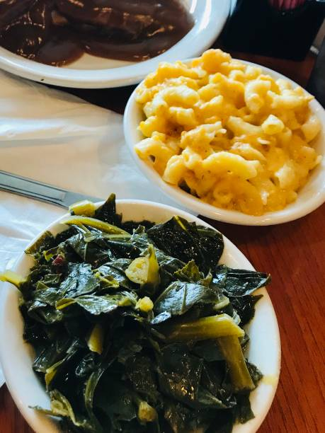 southern comfort food - kapustowate zdjęcia i obrazy z banku zdjęć