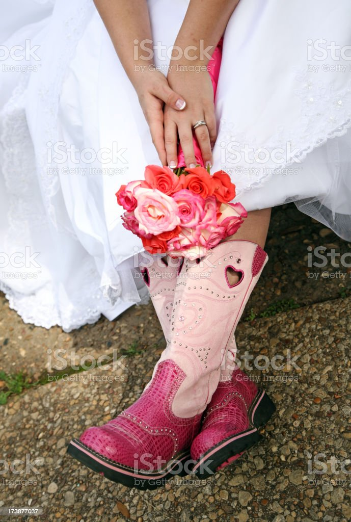 Southern Country Bride royalty-free stock photo