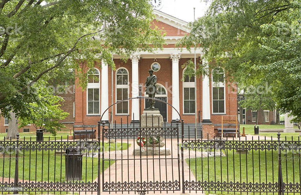 Southern Courthouse royalty-free stock photo