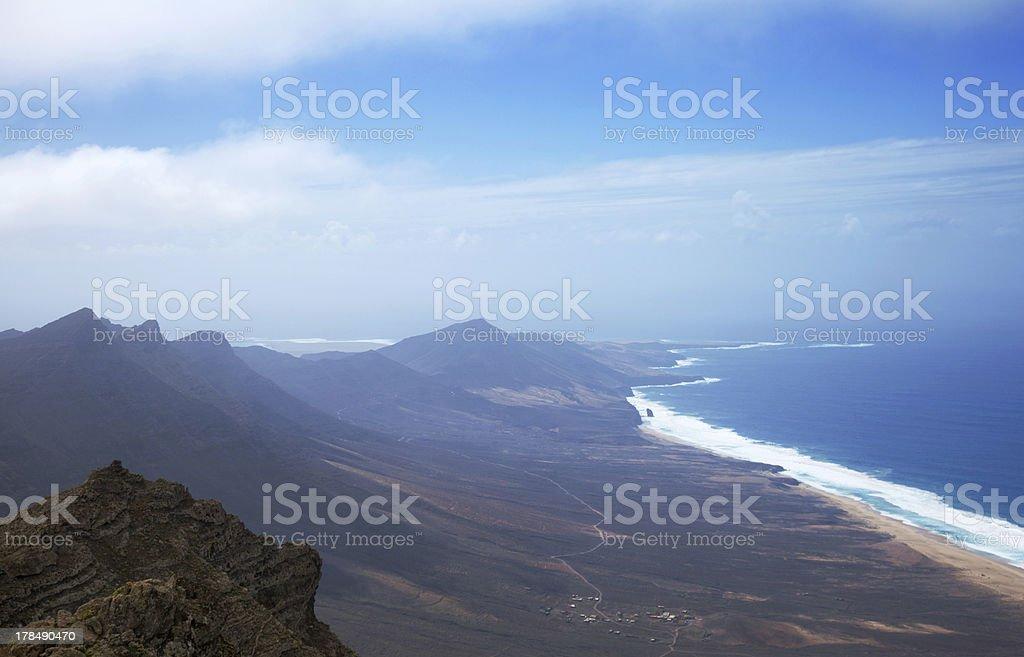 Southern Fuerteventura, Jandia royalty-free stock photo