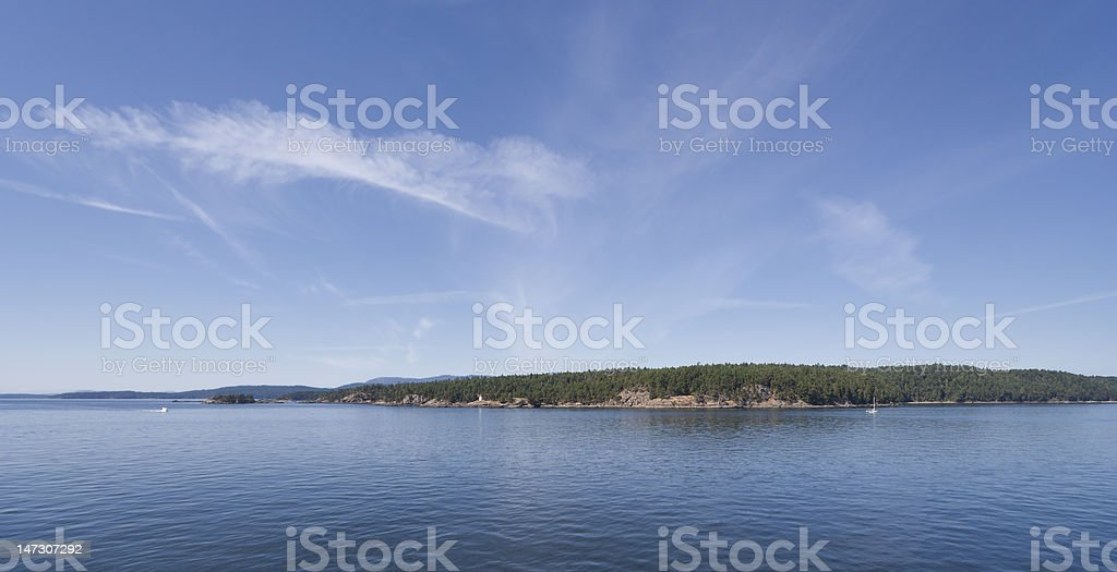 Southern Gulf Islands stock photo