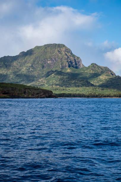 Southern Kauai Coastline stock photo