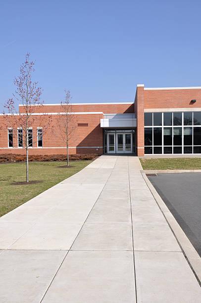 südlichen lehigh intermediate school in pennsylvania - grundschule stock-fotos und bilder