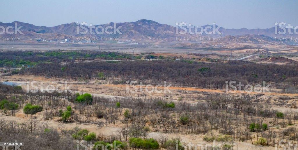 Southern North Korea stock photo