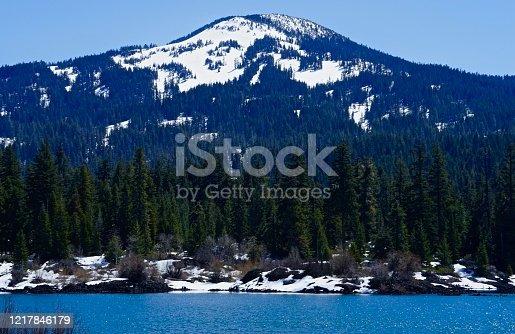 Southern Oregon's Cascade Range. Rogue River National Forest. Aspen Butte/Fish Lake.