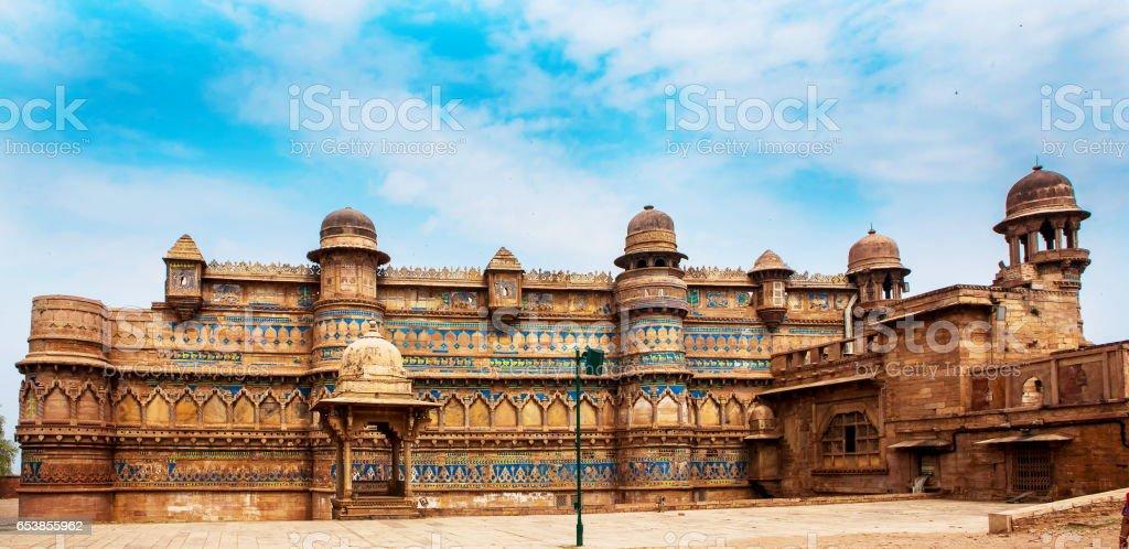 Partie Sud Du Fort De Gwalior Gwalior Madhya Pradesh Photos Et