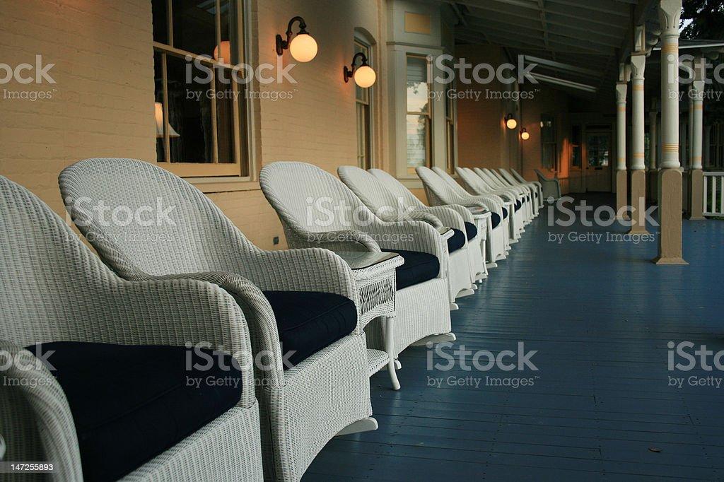 Southern Porch stock photo