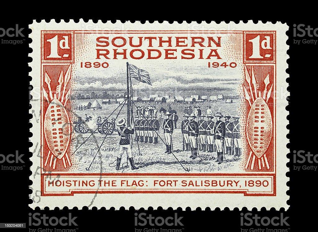 Southern Rhodesia royalty-free stock photo