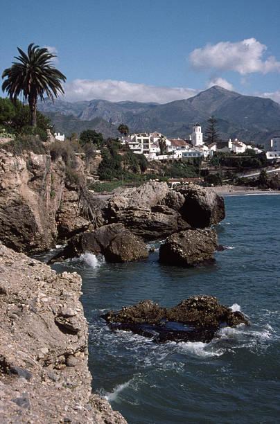 Southern Spain Coastal Village #2 stock photo