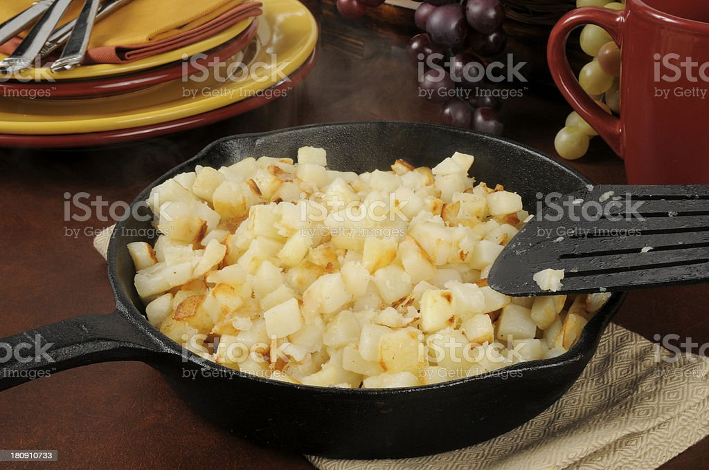 Southern style hash browns royalty-free stock photo