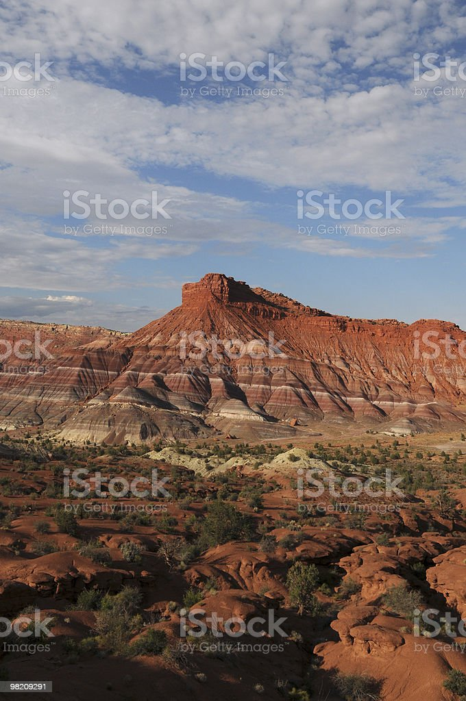 Southern Utah Scenic  (Grand Staircase) royalty-free stock photo