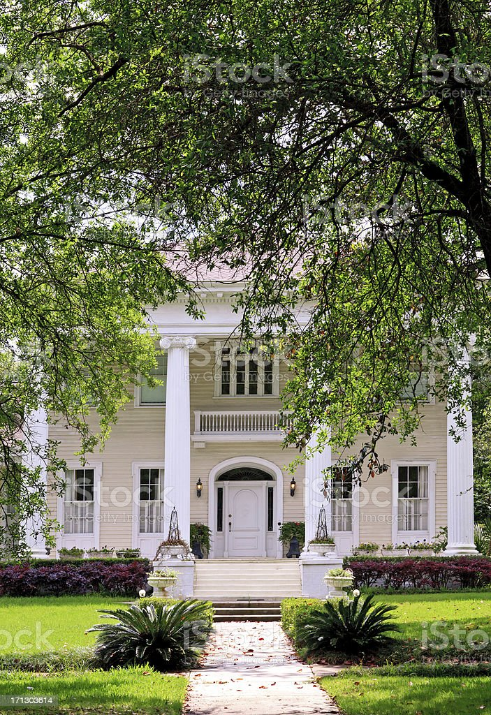 Southern Victorian Home stock photo
