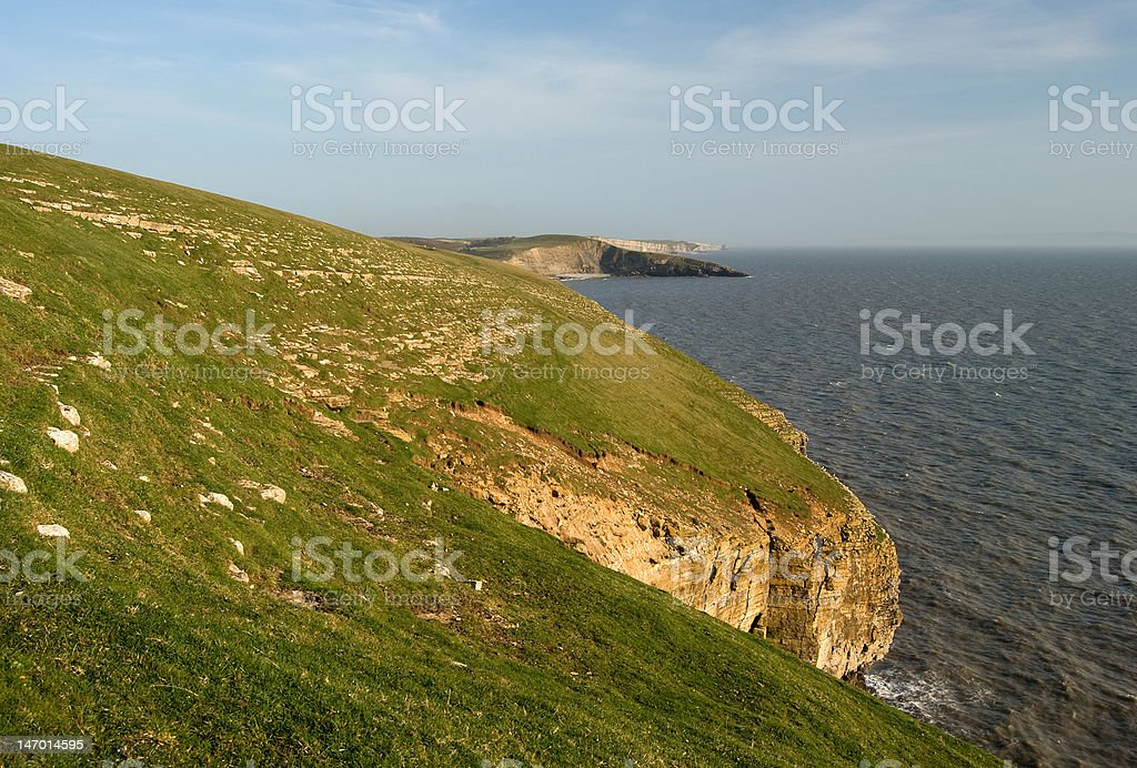 Southerndown Cliffs stock photo