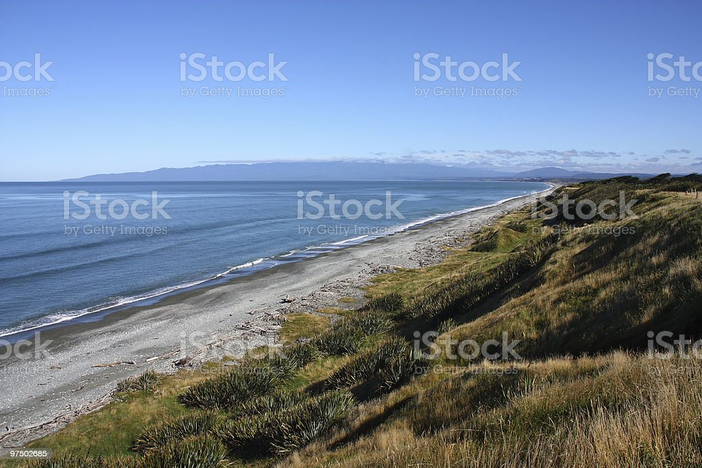 Southland, New Zealand royalty-free stock photo