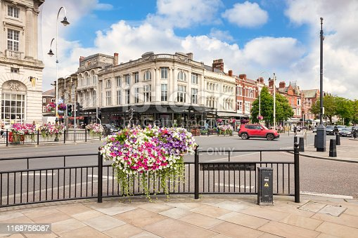istock Southport, Merseyside, UK, The Busy Town Centre 1168756087