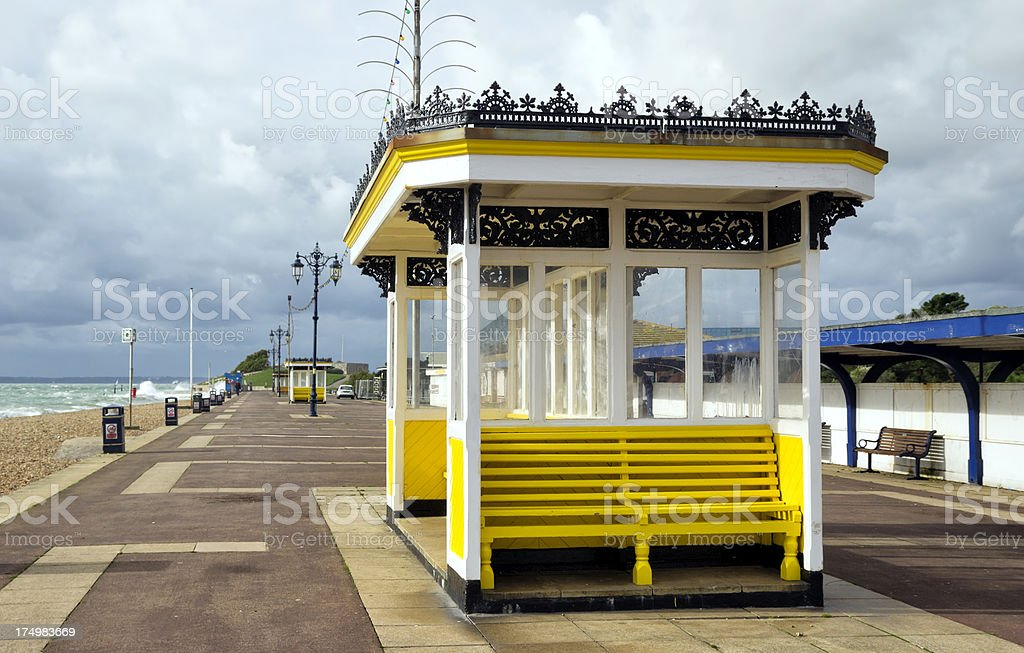 Southsea Esplanade stock photo
