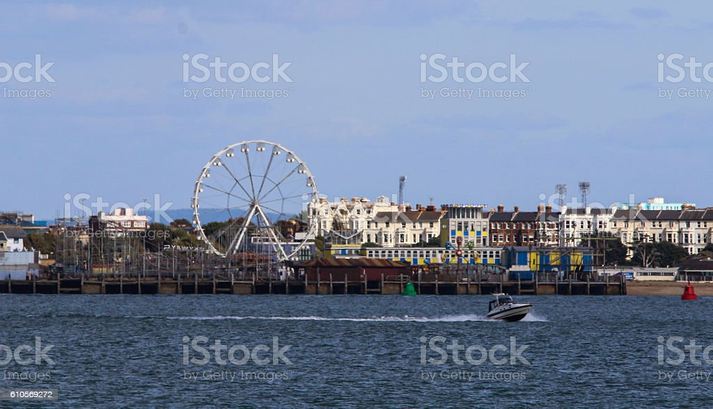 Southsea Portsmouth stock photo