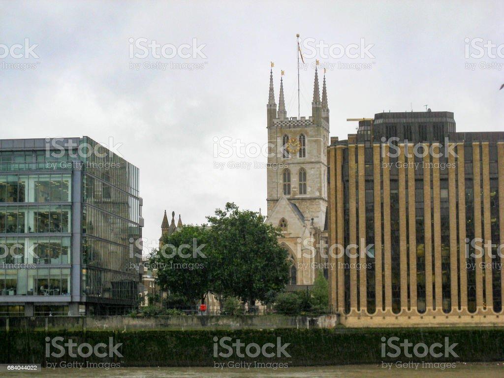 Southwark Cathedral London England stock photo