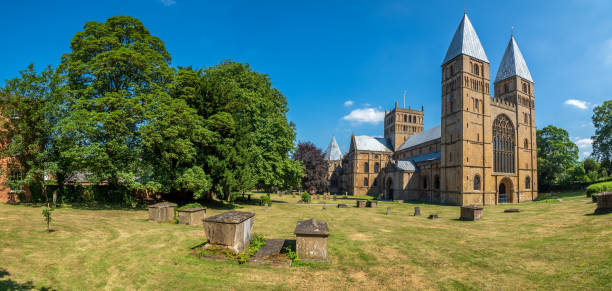 Southwell Minster Cathedral stock photo