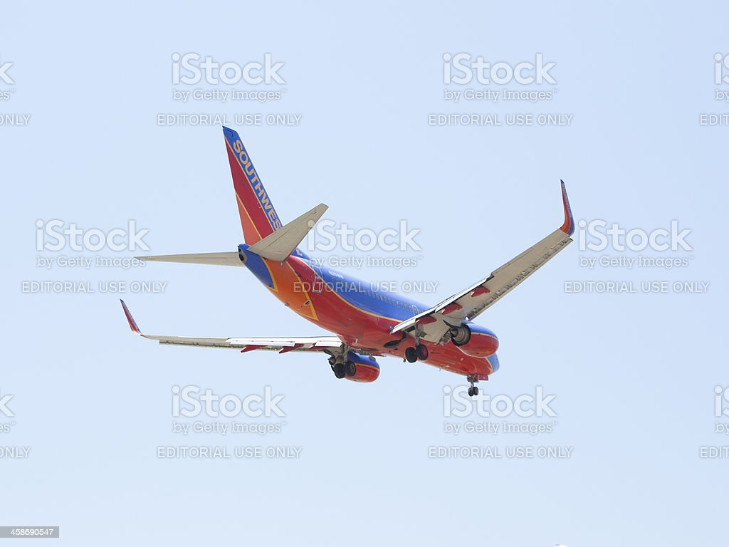 Southwest Airlines stock photo