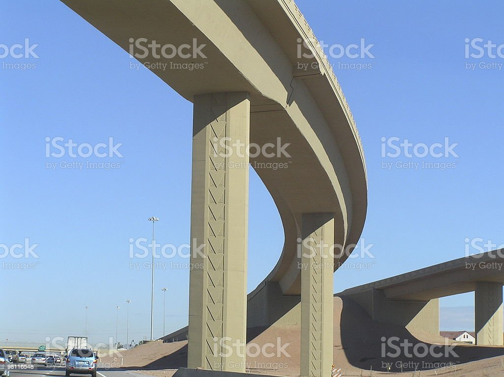 Ponte sud-occidentale foto stock royalty-free