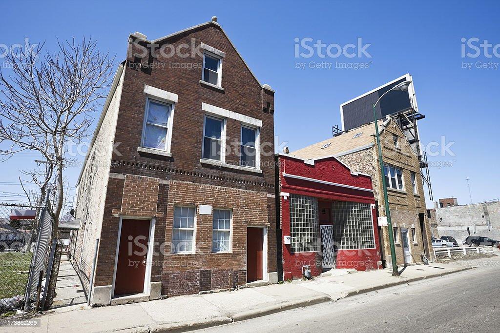 Southwest Chicago Business royalty-free stock photo