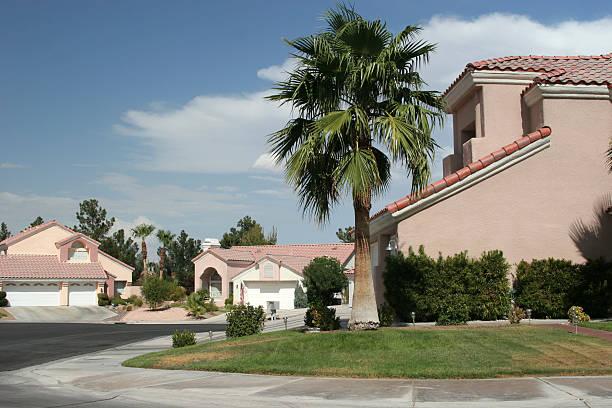 Southwest Homes stock photo