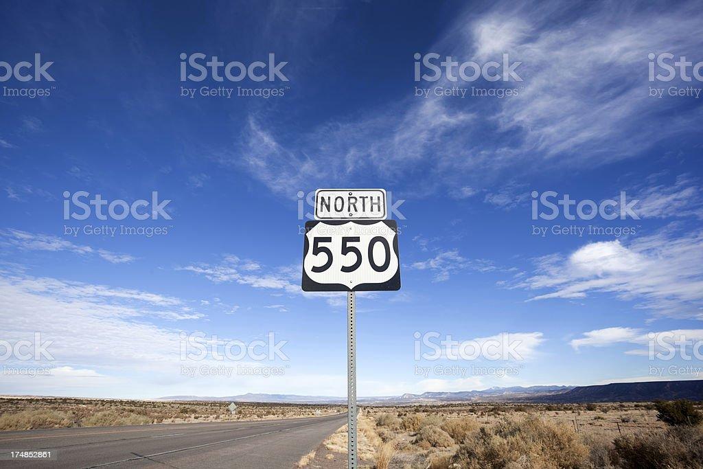 southwest road trip stock photo