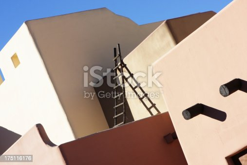 168248826 istock photo Southwest Stucco Building Architecture 175116176