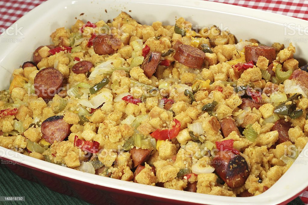 Southwest style stuffing royalty-free stock photo