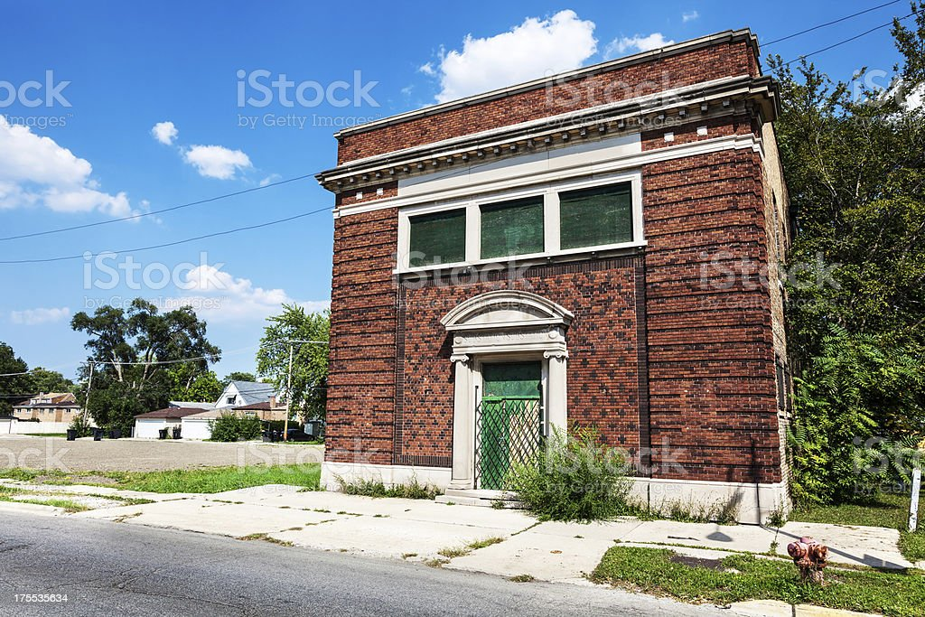 Southwest Substation Building, Washington Heights, Chicago royalty-free stock photo