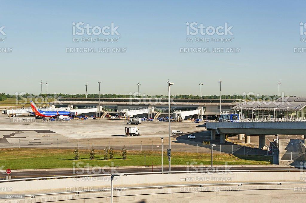 Southwest Terminal Sacramento royalty-free stock photo