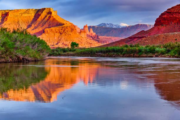 Southwest Utah landscapes stock photo