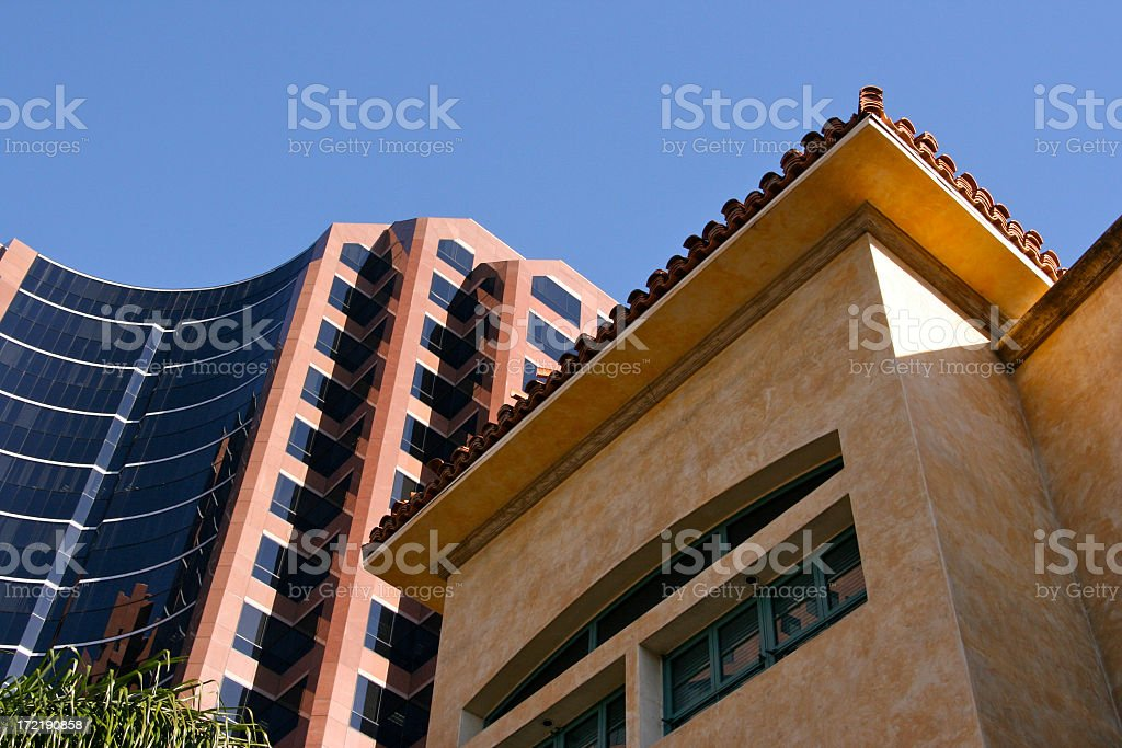 Southwester Buildings royalty-free stock photo