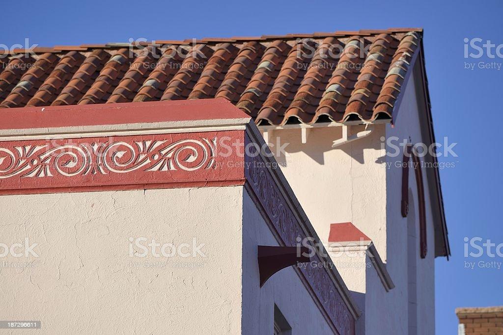 Southwestern Architecture, Colorado Springs royalty-free stock photo