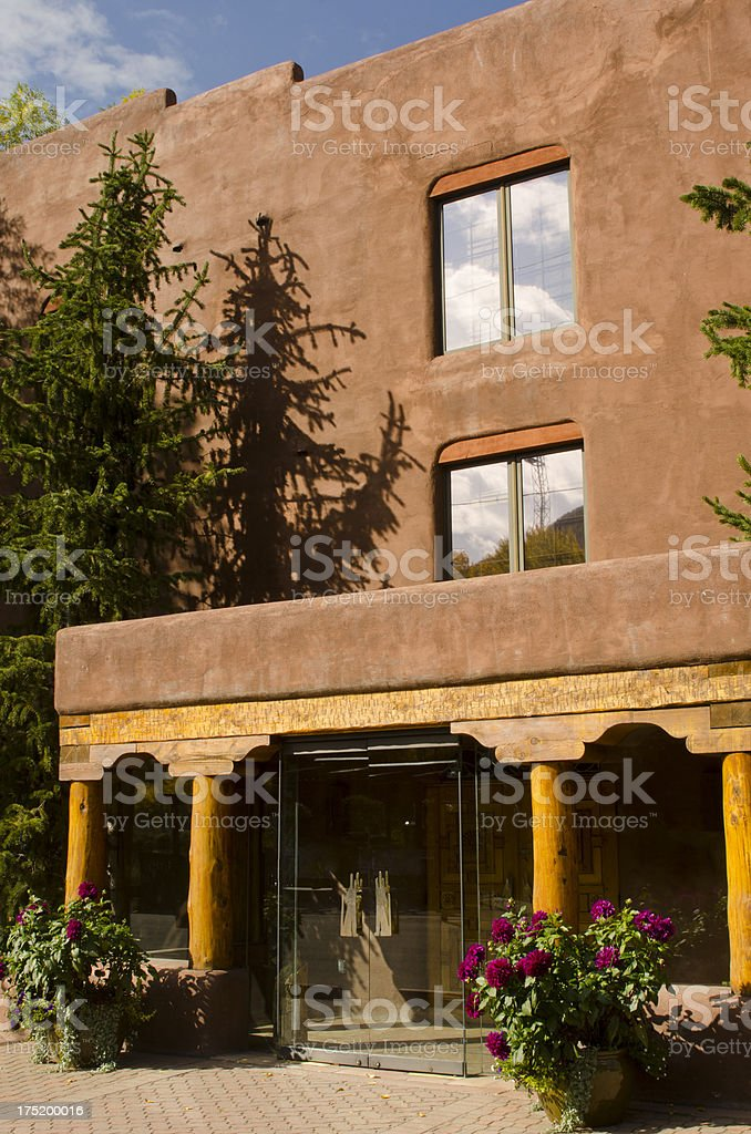 Southwestern Architecture in Minturn, Colorado royalty-free stock photo