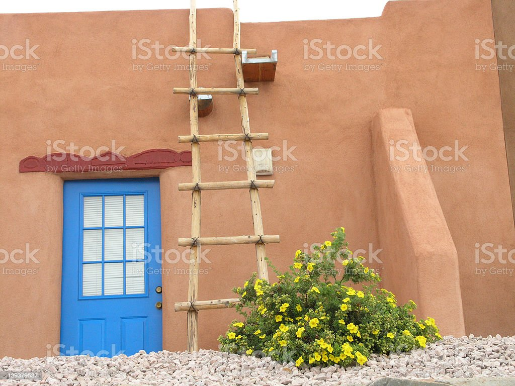 Southwestern Architecture royalty-free stock photo