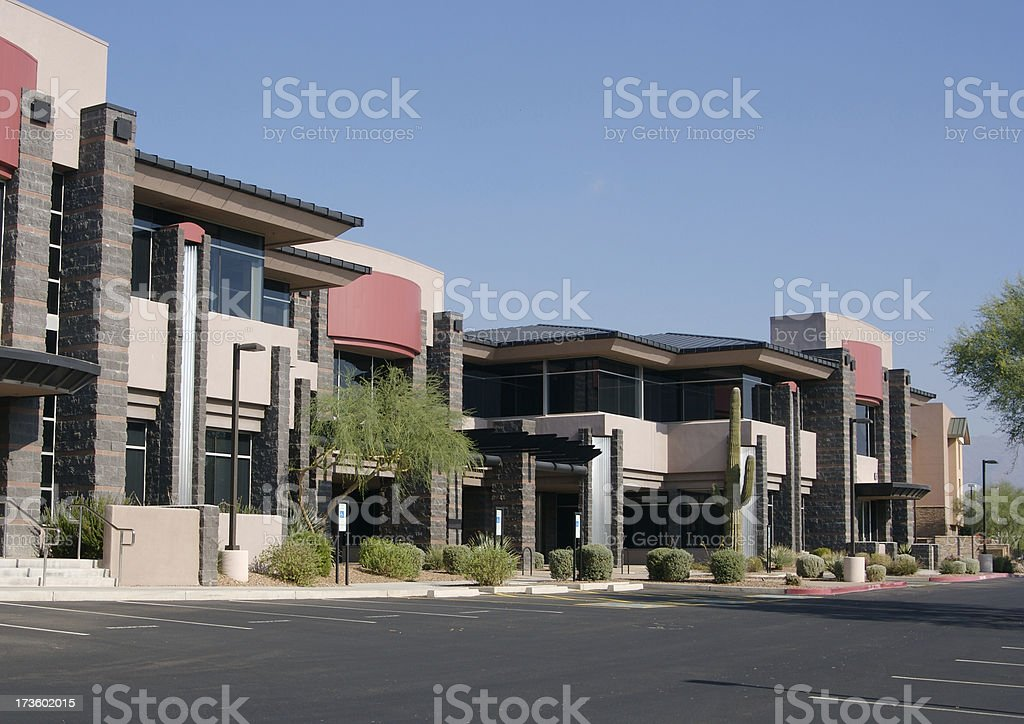 Southwestern Business Park royalty-free stock photo