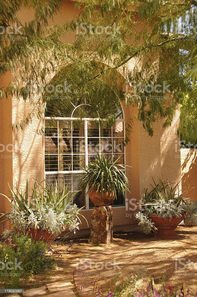 Southwestern Home royalty-free stock photo