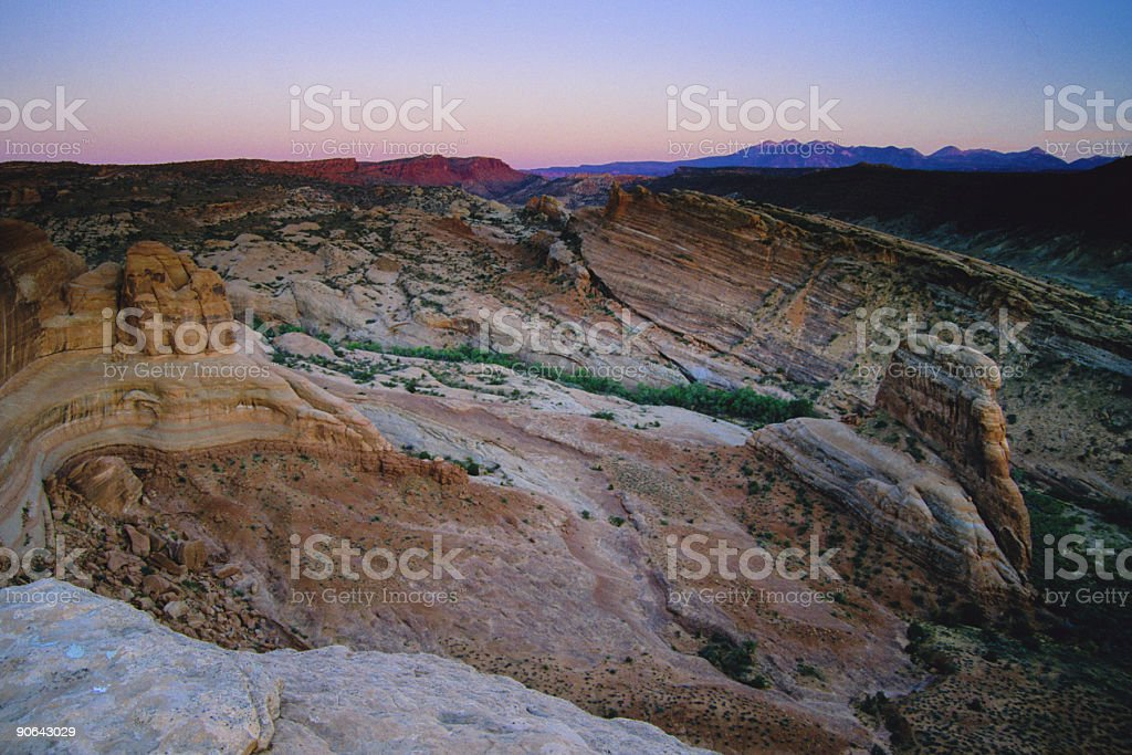 southwestern landscape royalty-free stock photo