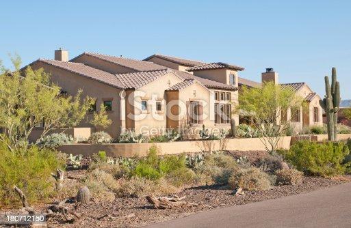 istock Southwestern Pueblo Style Home 180712150