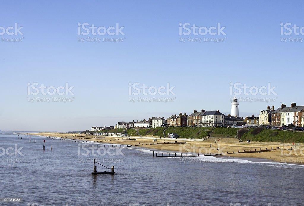 southwold beach royalty-free stock photo